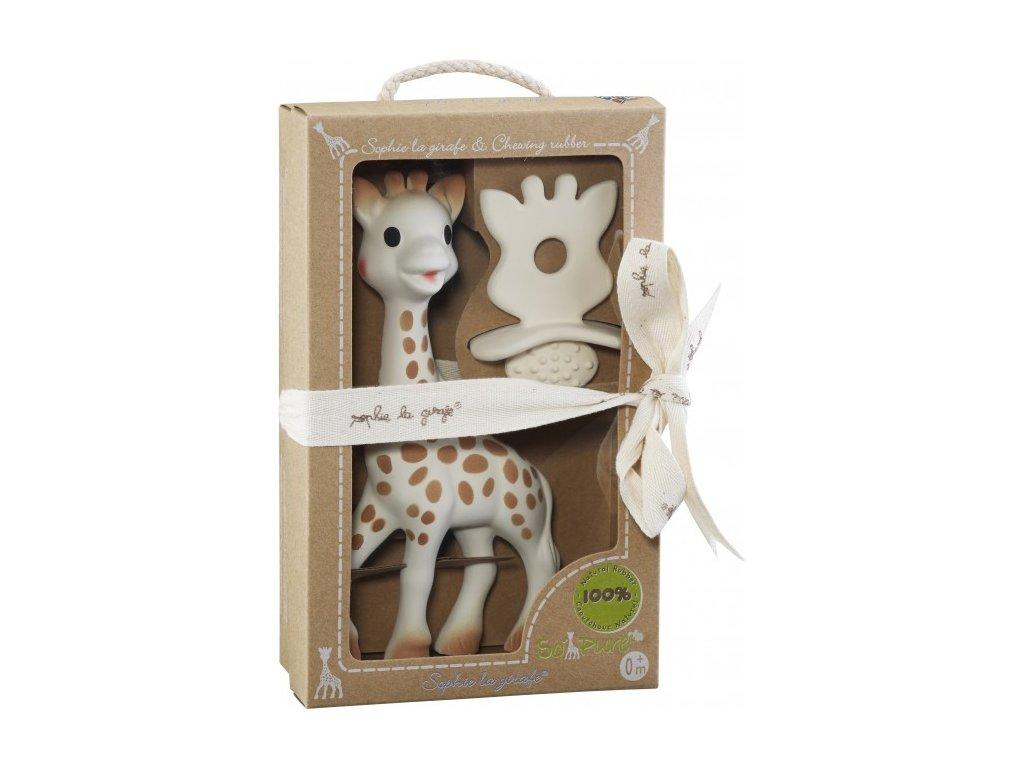 Vulli set žirafa Sophie + hryzátko z kolekcie So´Pure