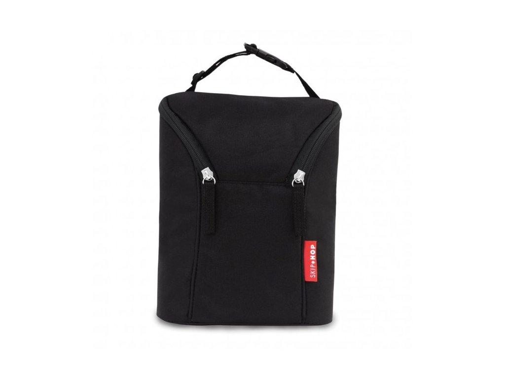 Skip*Hop Termoobal - termo taška na dve fľaše - čierna