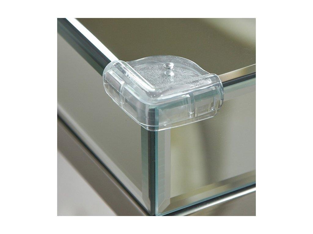 Clippasafe - Plastová ochrana sklenených rohov (4ks)