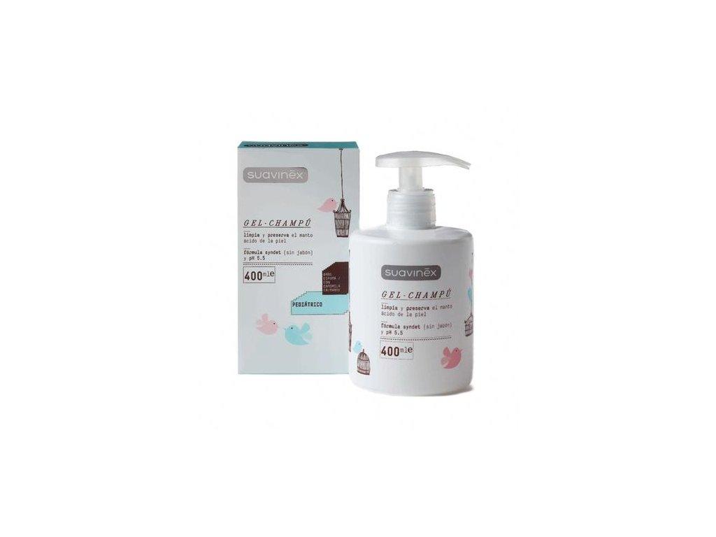 SUAVINEX Gélový šampón s dávkovačom, 400 ml