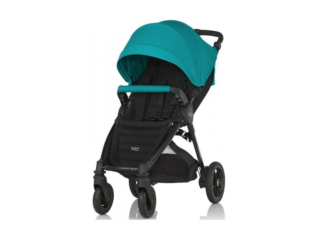 Britax B-Motion 4 PLUS + farebný set Lagoon Green 2016