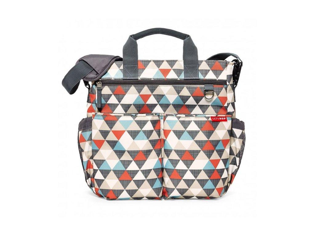Skip*Hop taška Duo Signature - trojuholníky