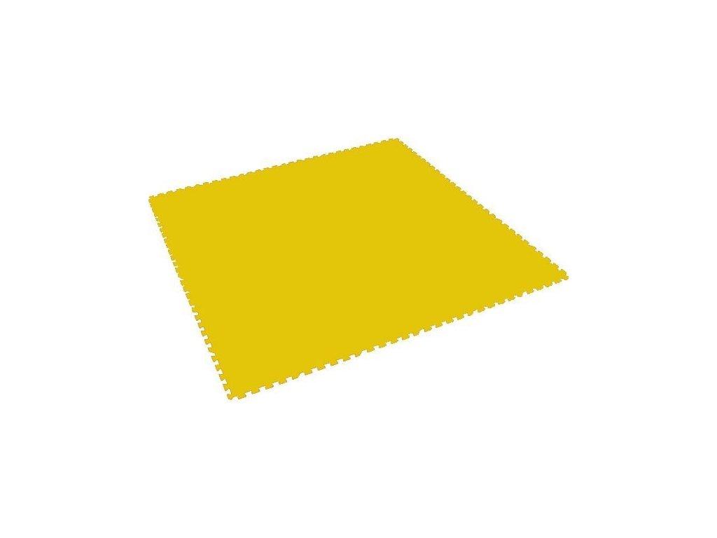MALÝ GÉNIUS Penový koberec XL / jednotlivý diel - žltý
