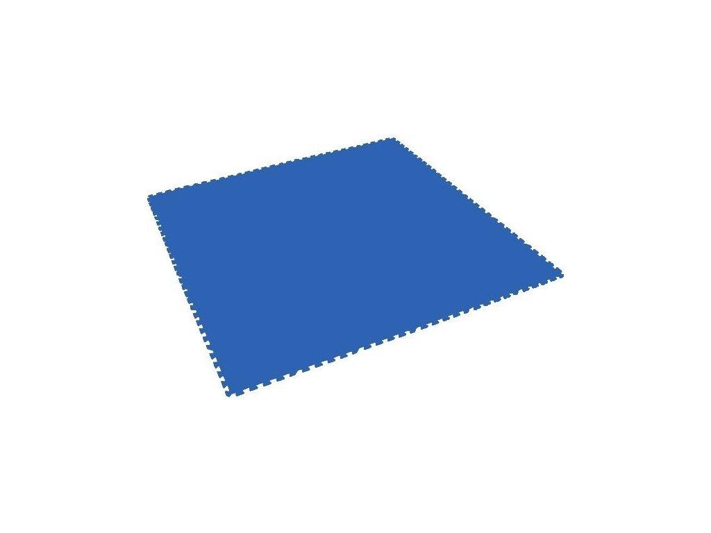 MALÝ GÉNIUS Penový koberec XL - hrubý / jednotlivý diel - modrý