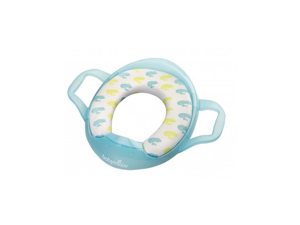 BABYMOOV WC adaptér Soft s držadlami ŽABA