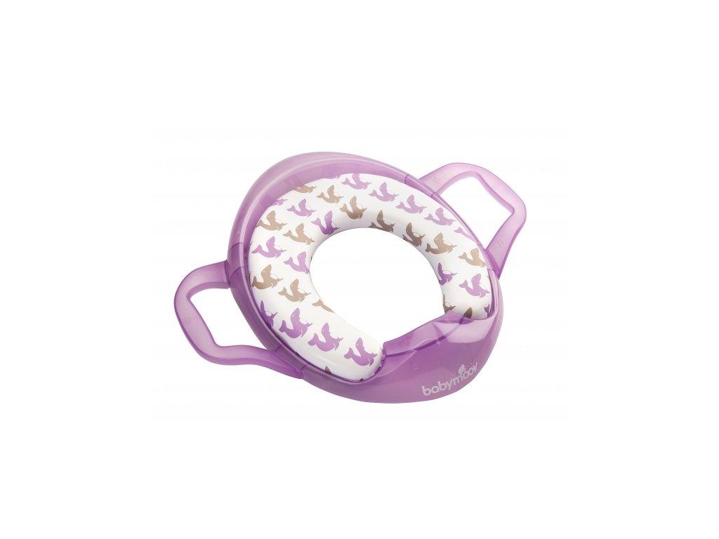 BABYMOOV WC adaptér Soft s držadlami TULEŇ
