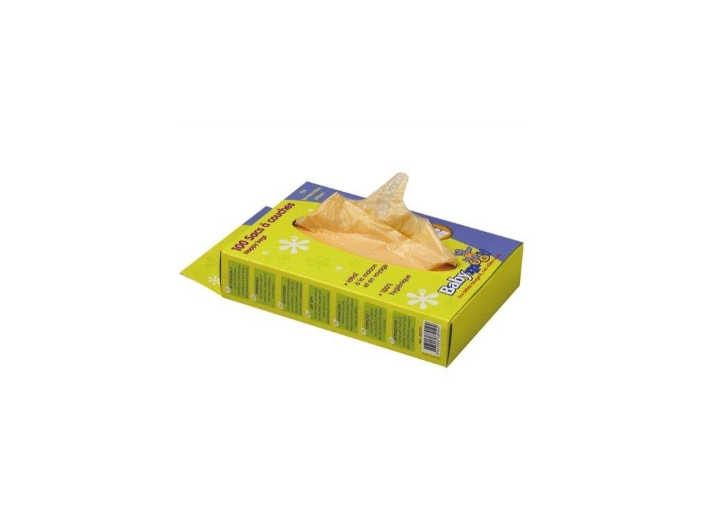 BABYMOOV Jednorazové sáčky na použité plienky 100ks