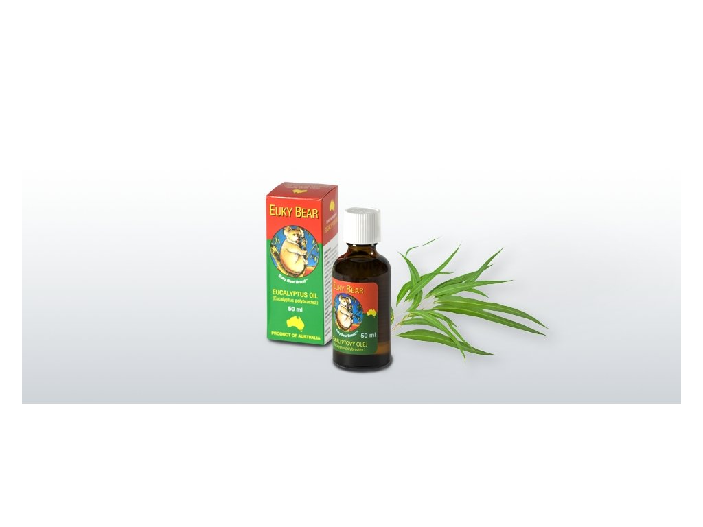 HEALTH LINK - EUKY BEAR Eukalyptový esenciálny olej - 50 ml
