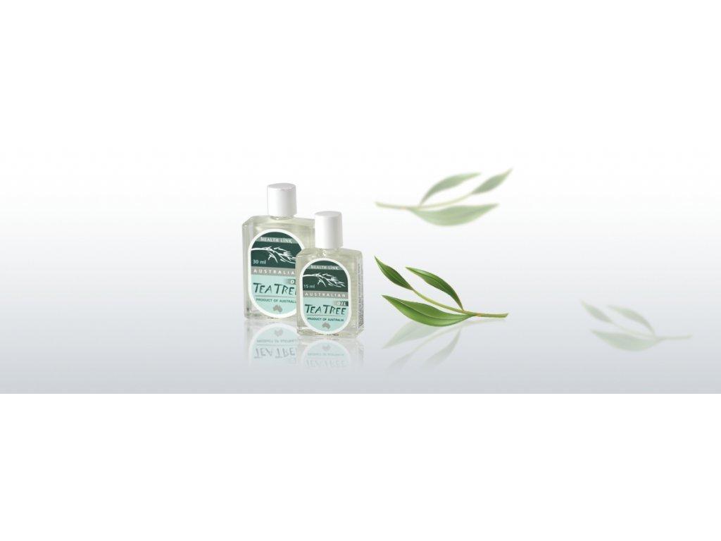HEALTH LINK - TEA TREE OIL Čajovníkový esenciálny olej - 15 ml