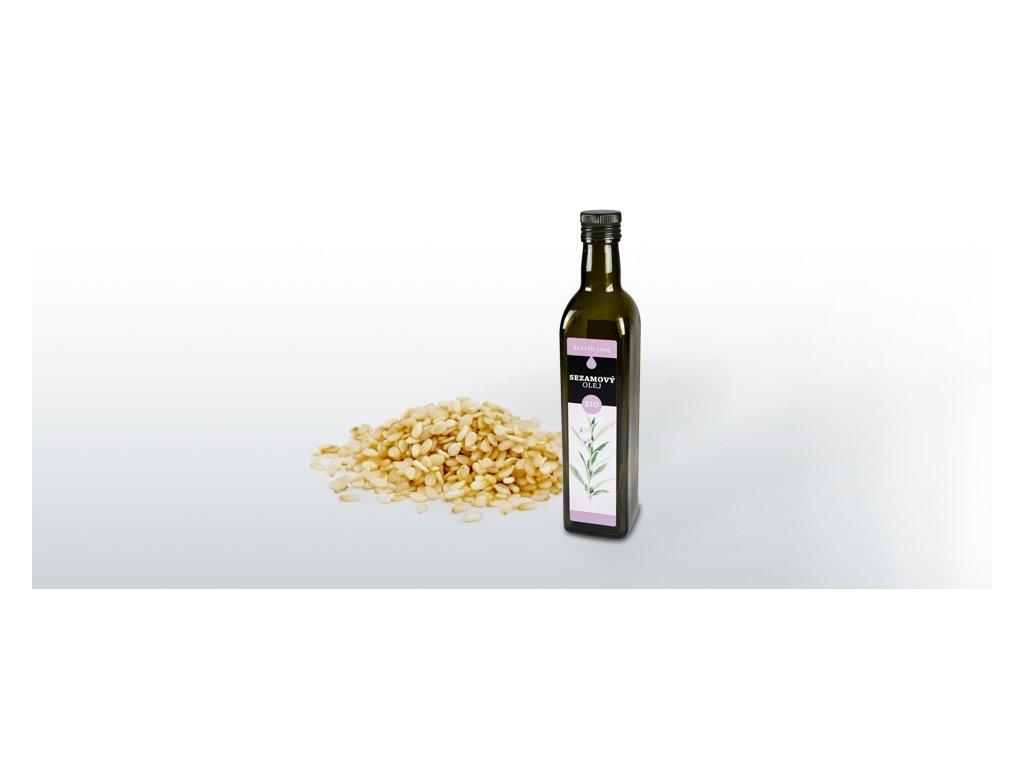 HEALTH LINK - BIO Sezamový olej - 500 ml