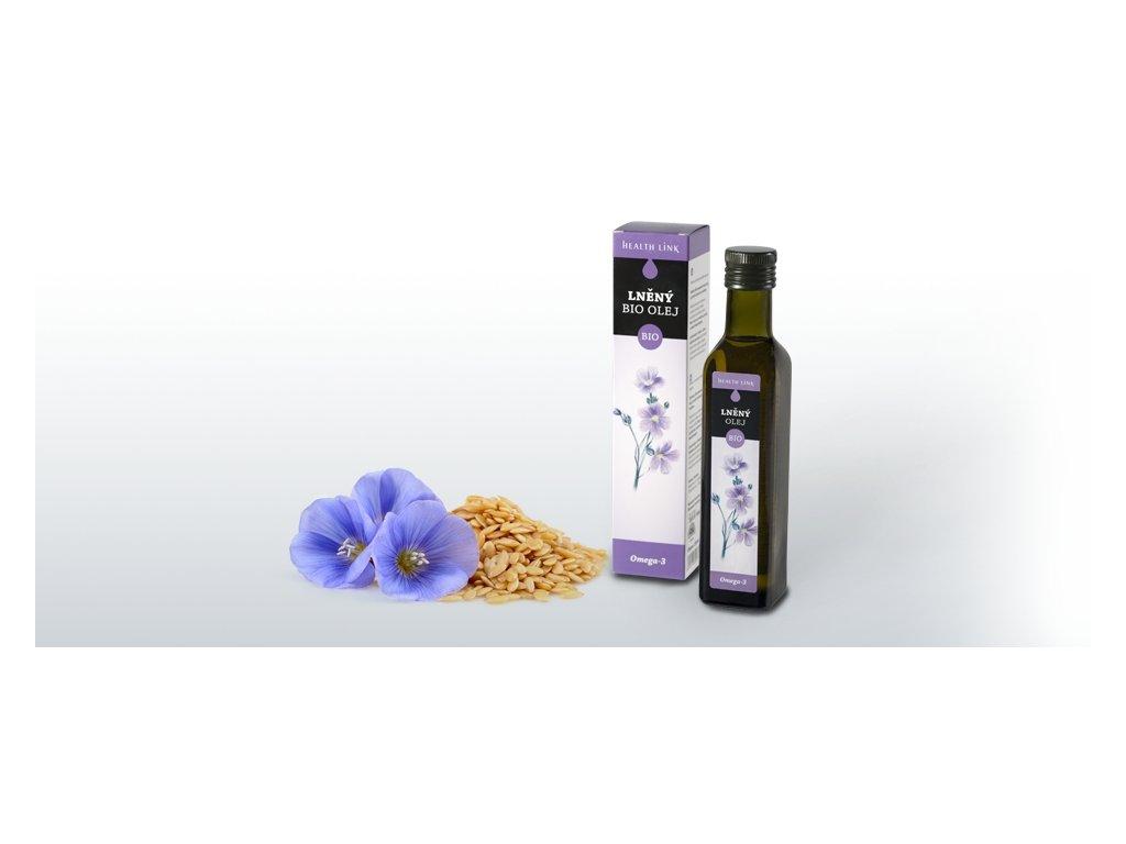HEALTH LINK - BIO Ľanový olej - 250 ml