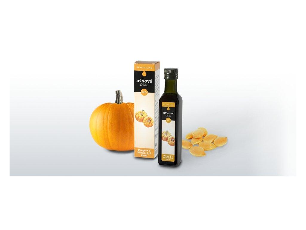 HEALTH LINK - BIO Tekvicový olej - 250 ml