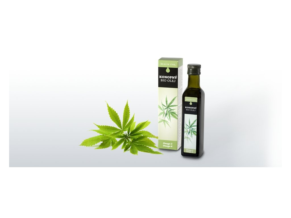 HEALTH LINK - BIO Konopný olej - 250 ml