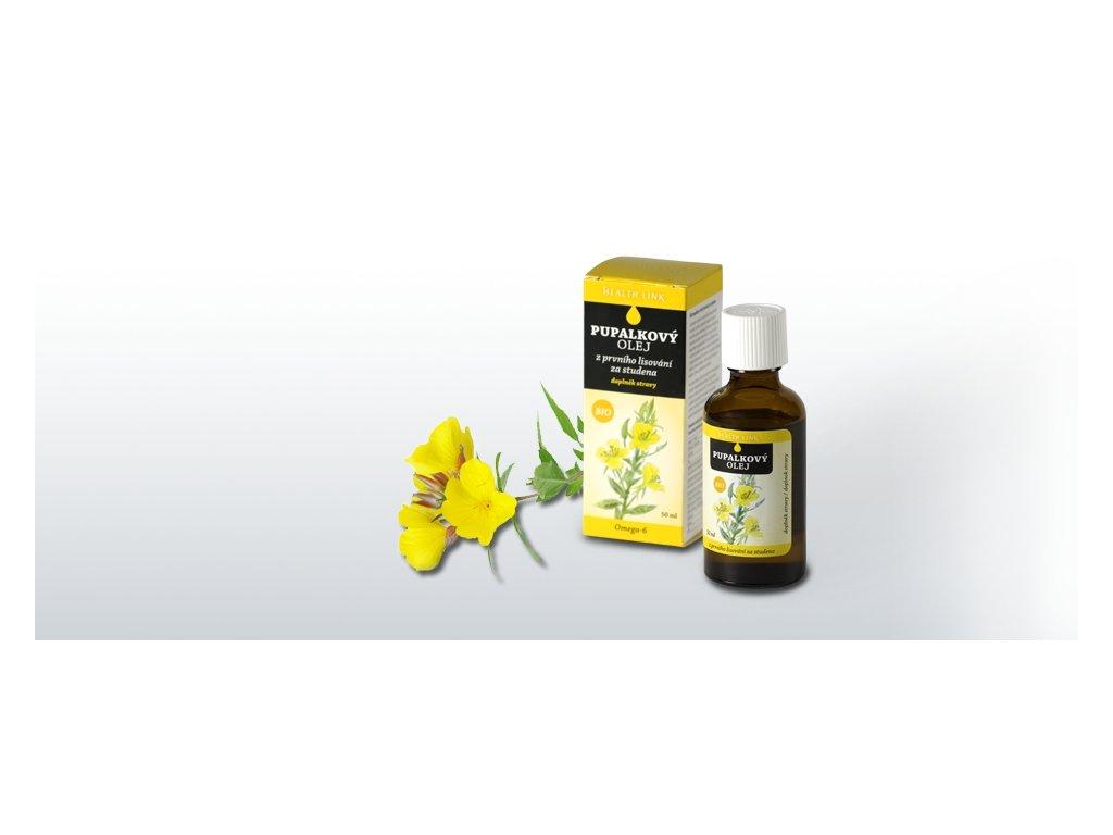 HEALTH LINK - BIO Pupalkový olej - 50 ml