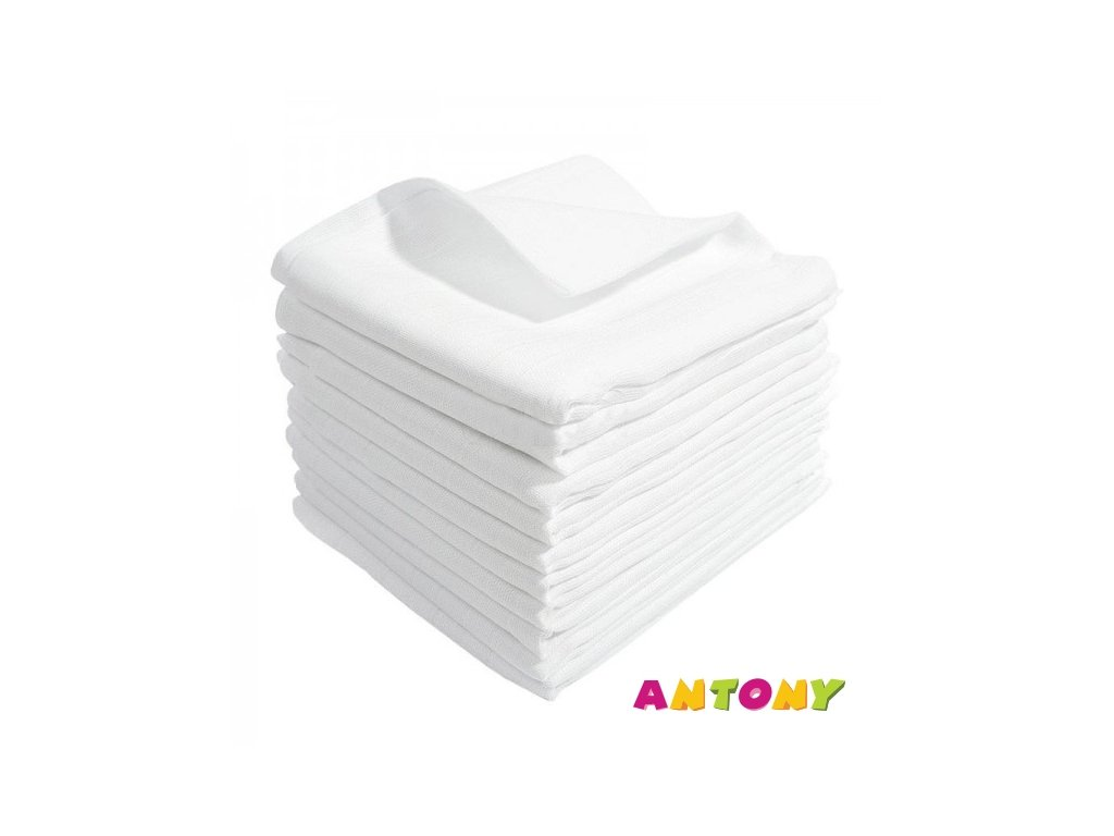 Antony Bavlnená plienka LUX - 10ks balenie