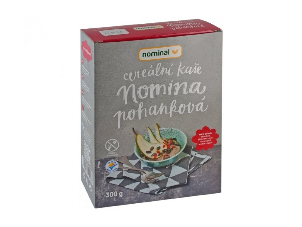 NOMINAL Pohánková cereálna kaša NOMINA, bezlepková, 300 g