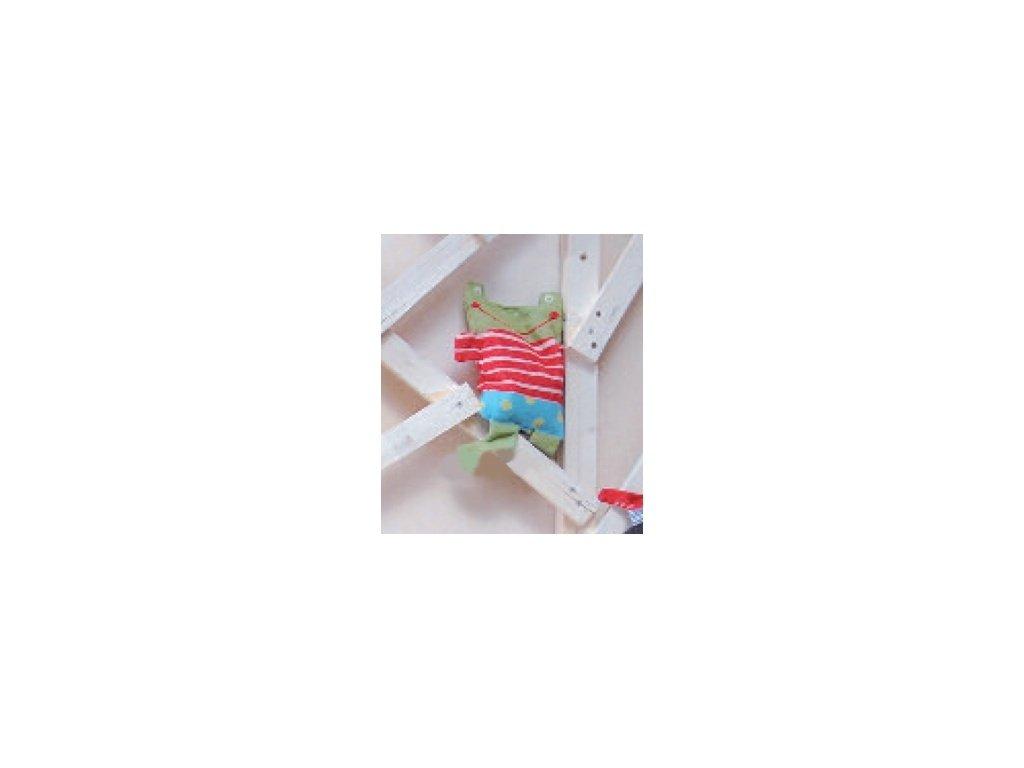 DaviDFussenegger Nahrievacia špaldový vankúšik 26x33 cm žaba červená
