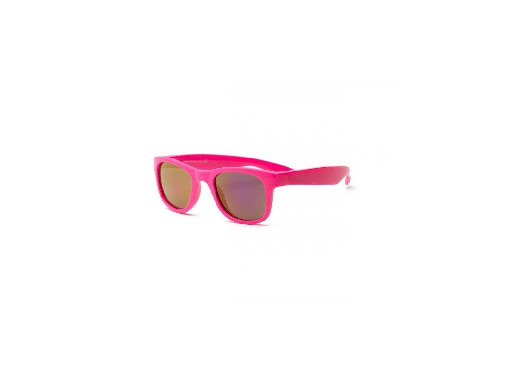 Real Kids Shades Slnečné okuliare Surf 2r+ - neónovoružové