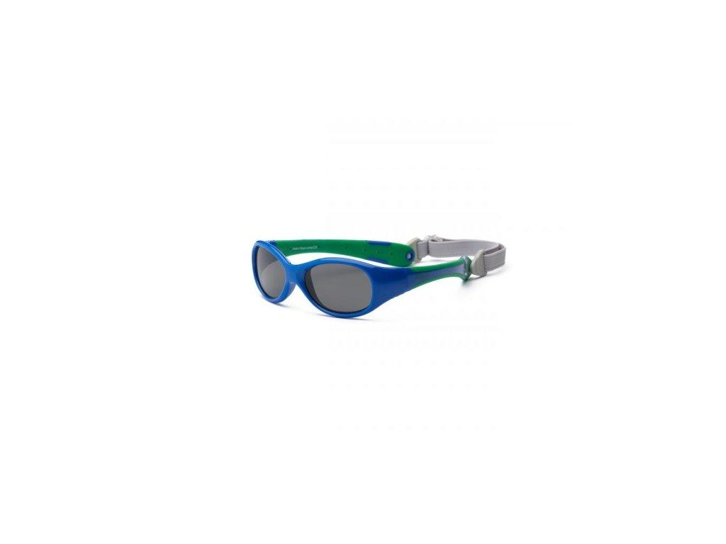 Real Kids Shades Slnečné okuliare Explorer - modro-zelene 0+