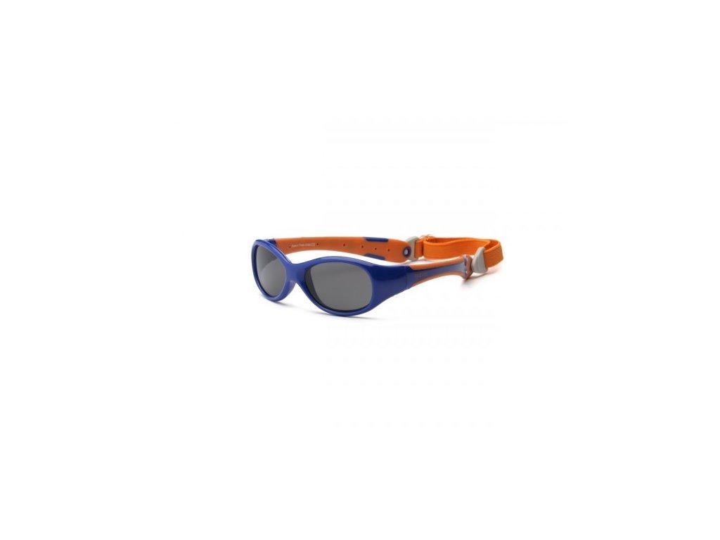 Real Kids Shades Slnečné okuliare Explorer 2r+ - oranžovo-modré