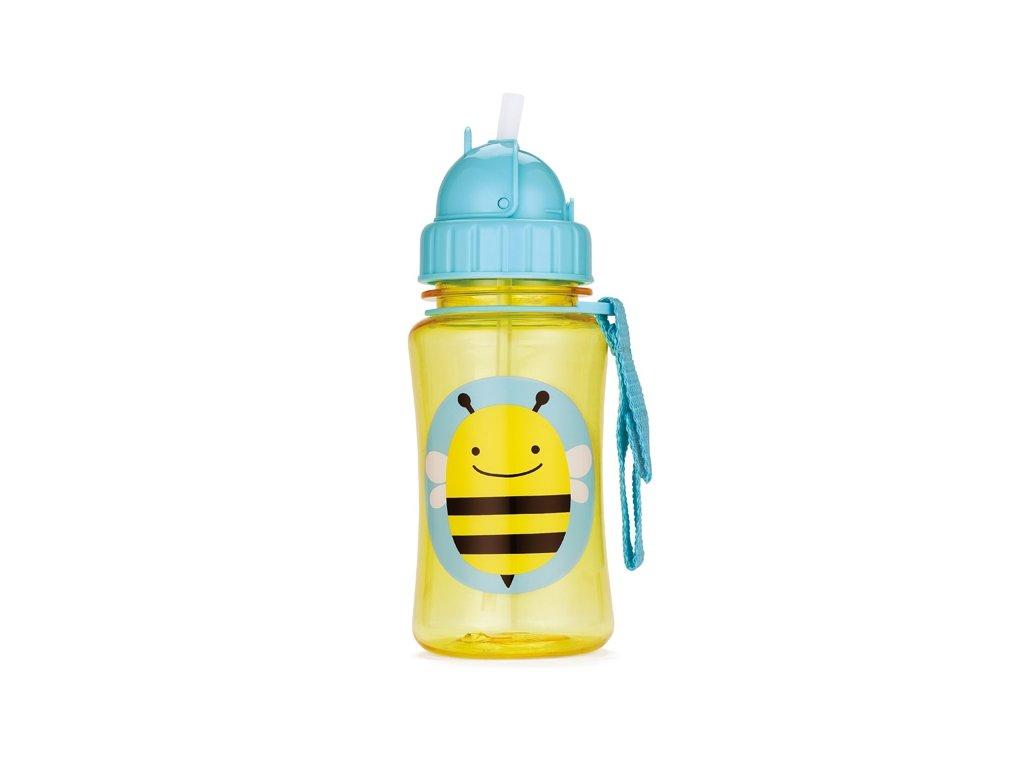SKIP*HOP Zoo Fľaštička so slamkou-Včielka