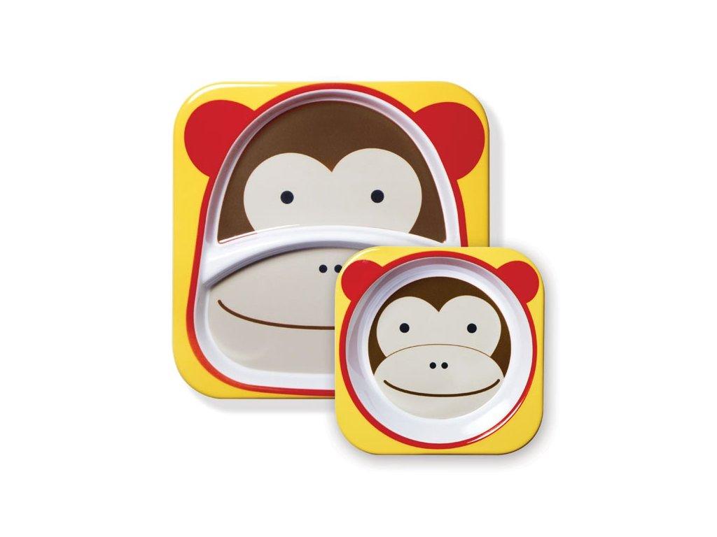 SKIP*HOP Zoo Jedálenský set - Opička
