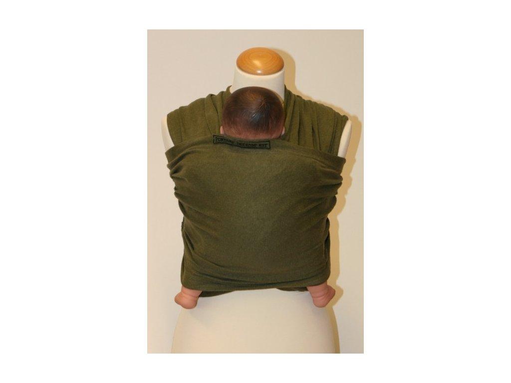 MaM Eco One - šatka na nosenie detí - olive