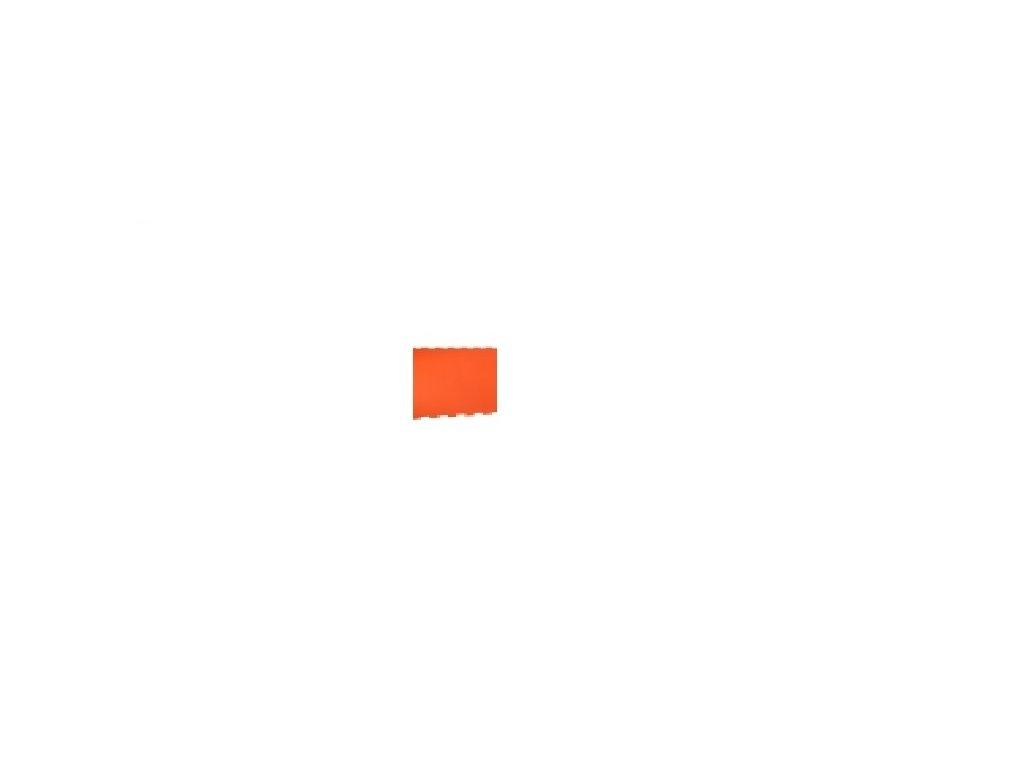 MALÝ GÉNIUS Penový koberec 6 - MAXI - hrubý / Jednofarebný - oranžový