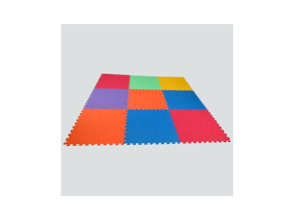 MALÝ GÉNIUS Penový koberec Mid - form 9 HRUBÝ