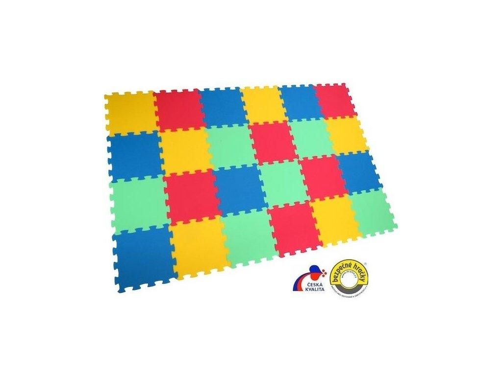 MALÝ GÉNIUS Penový koberec 24 - UNI-FORM - hrubý