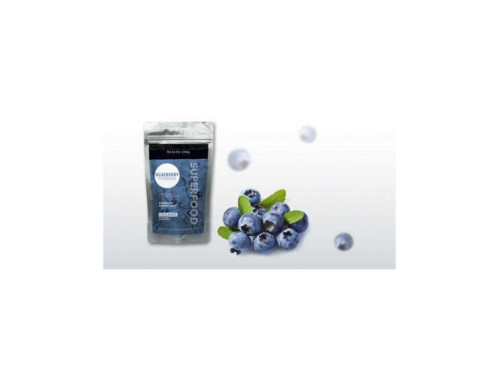 HEALTH LINK - BIO RAW Čučoriedkový prášok 80g