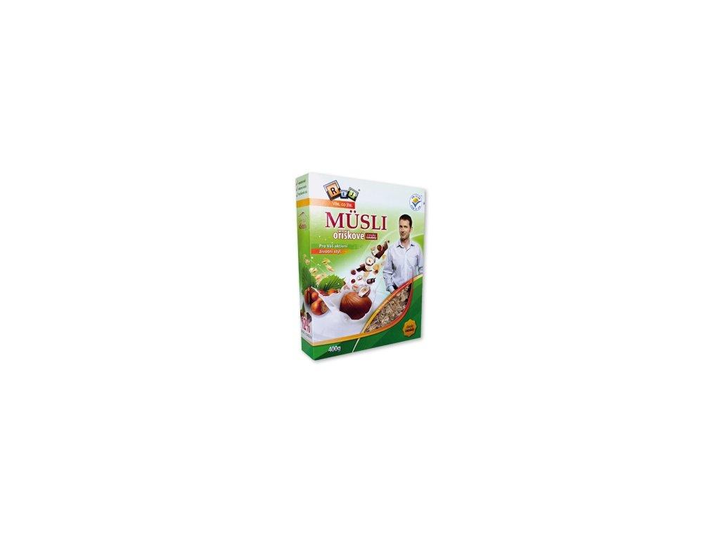 REJ - VIETE, ČO JETE (Ing. Petr Havlíček) MÜSLI orieškové s kúskami čokolády