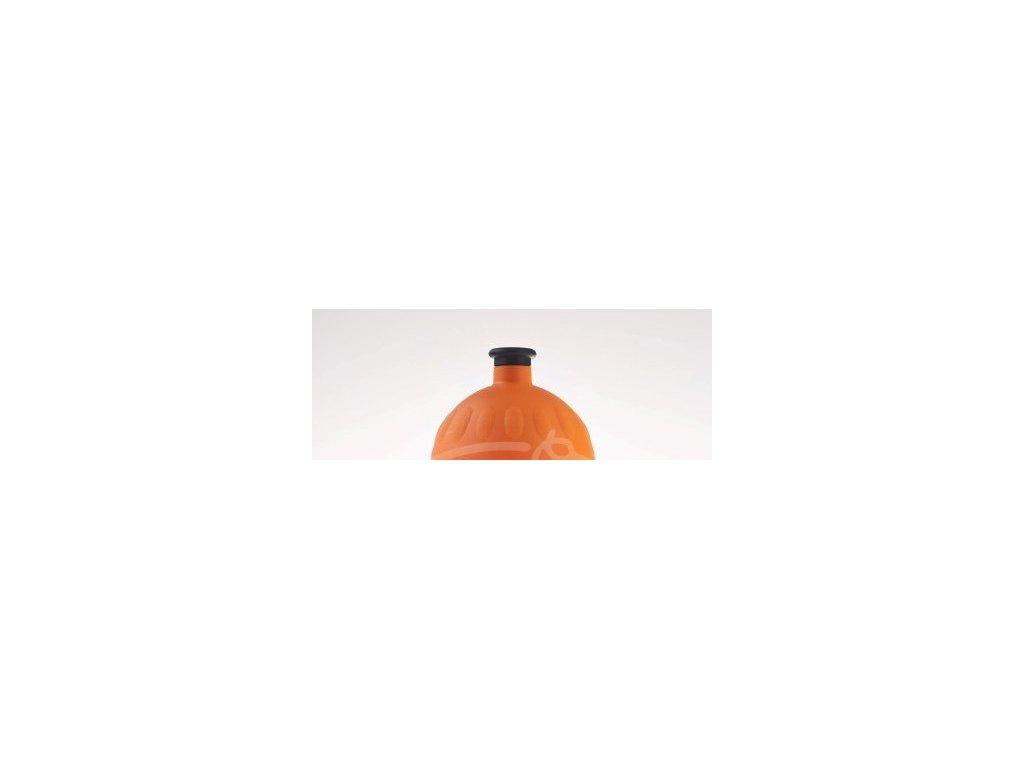 Zdravá fľaša Náhradné viečko na ZF - oranžové (čierna zátka)
