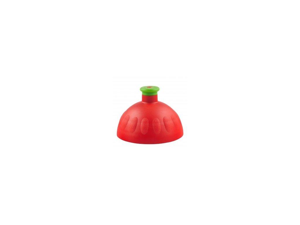 Zdravá fľaša Náhradné viečko na ZF - červené (zelená zátka)