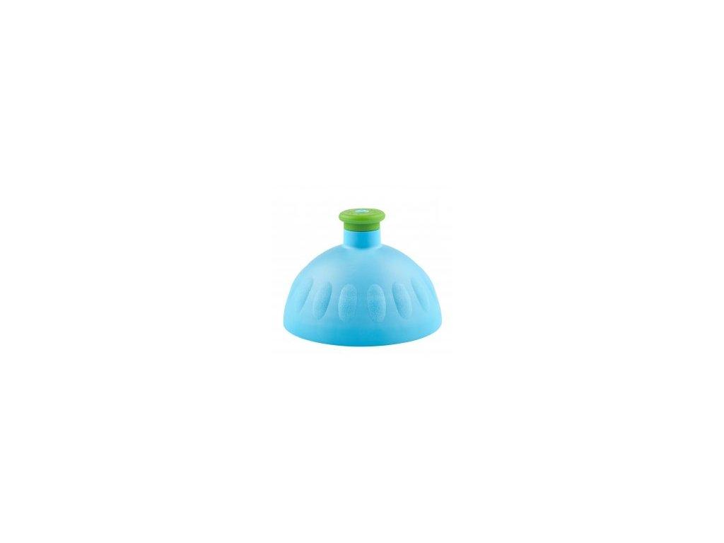 Zdravá fľaša Náhradné viečko na ZF - modré (zelená zátka)