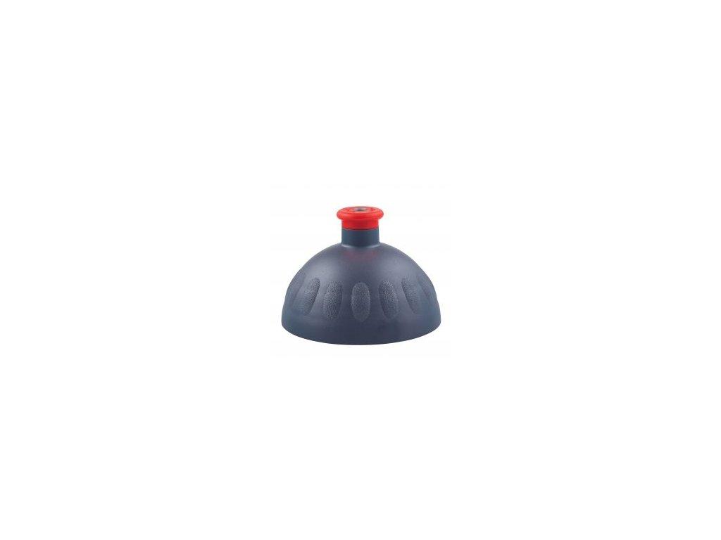 Zdravá fľaša Náhradné viečko na ZF - antracitové (červená zátka)