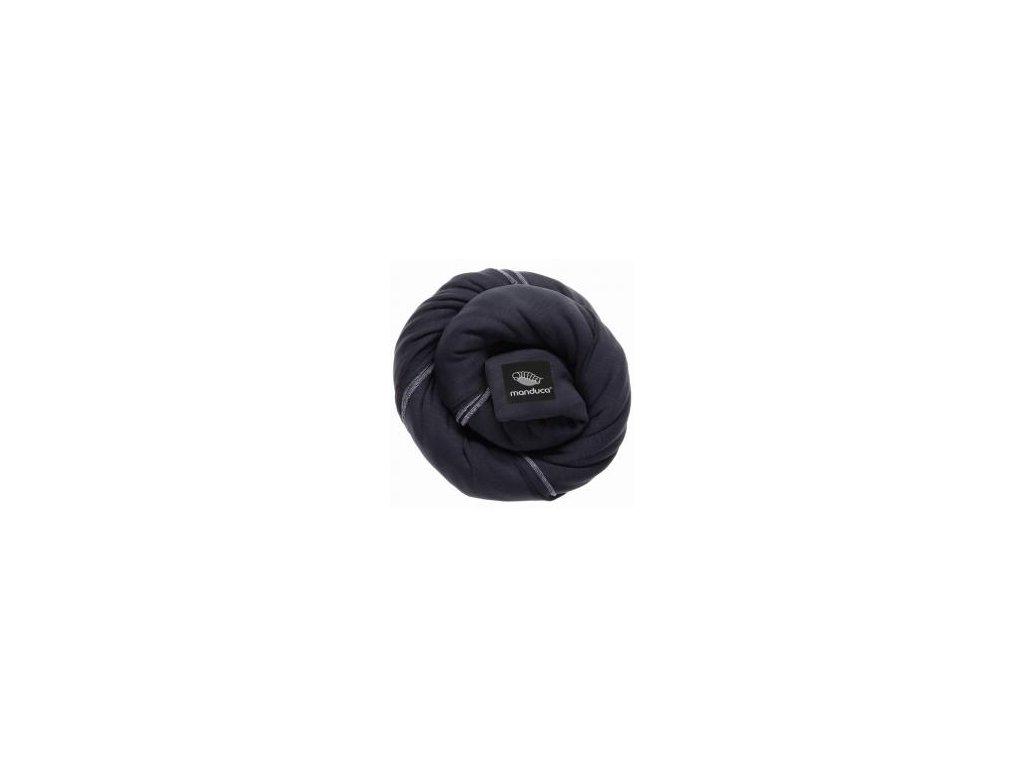 Manduca sling - šatka na nosenie detí - black