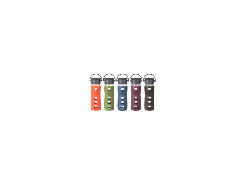 Lifefactory fľaša s uzáverom cafe - 350ml