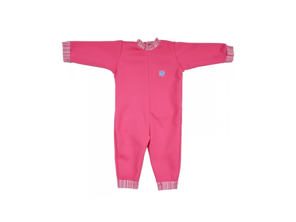 Splash About Baby Neoprén Overal Pink Classic