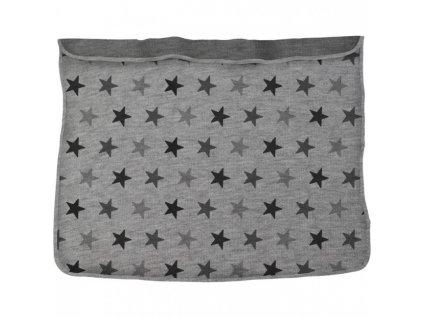 DOOKY Deka Blanket - Grey Stars