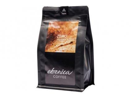 EBENICA bezkofeínová zrnková káva ZERO 220g