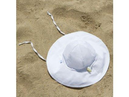 i play. UV široký klobúčik biely
