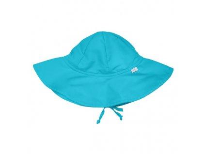 i play. UV široký klobúčik aqua