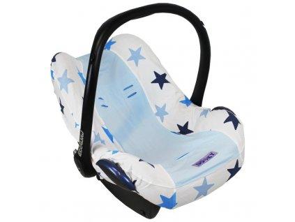 Dooky Poťah na autosedačku Seat Cover 0+ Blue Stars