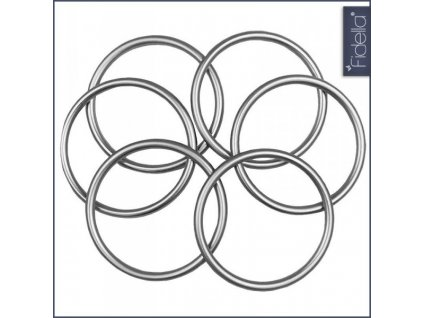 Fidella RS krúžok malý - M - grey, 1ks