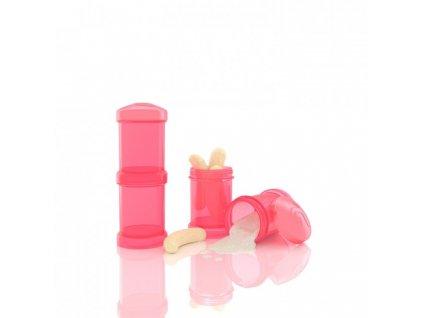 Twistshake Zásobníky 2ks - peach