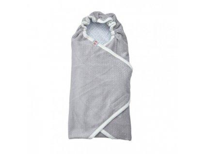 Lodger Zavinovačka Wrapper Newborn Scandinavian Flannel Mist