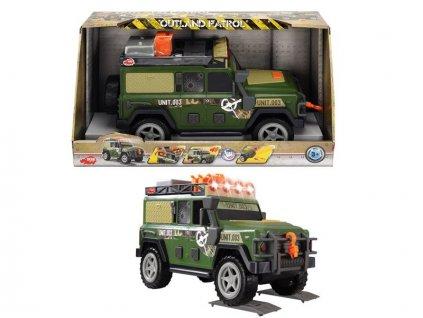 Dickie Action Series Outland Patrol vojenský 34cm
