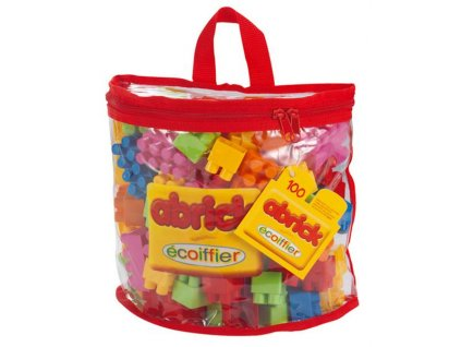 Ecoiffier Abrick kocky 100 ks v taške