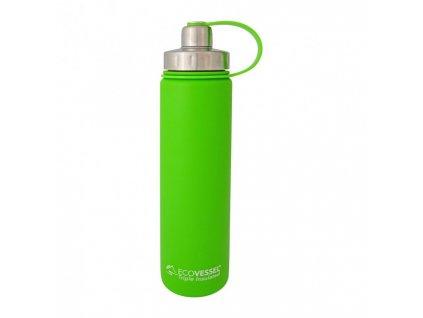 Eco Vessel Termofľaša so závitom 700 ml - limetková